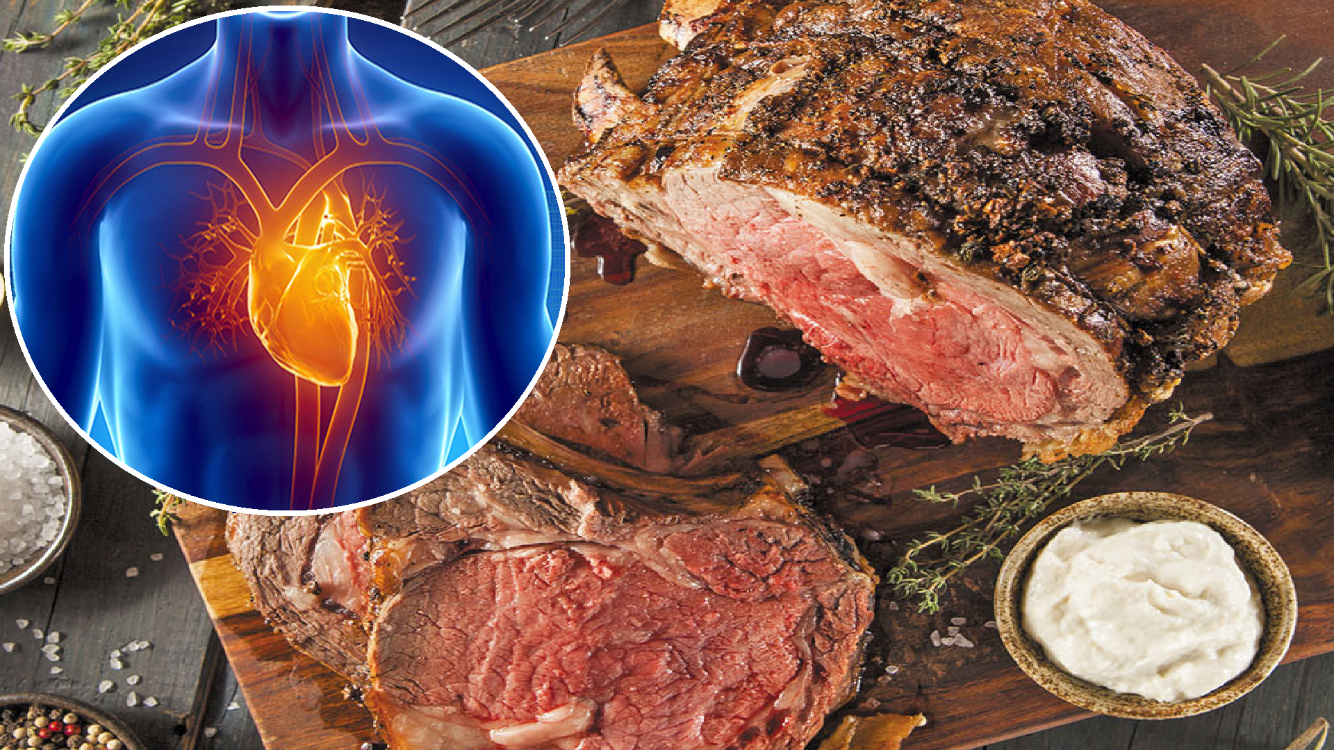Daily Consumption of Red Meat Triples Heart Disease